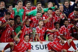 拜仁慕尼黑第6度登顶德国超级杯
